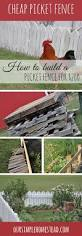 how to build a cheap picket fence for 200 this month u0027s project