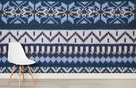 fairisle knit mural wallpaper wall mural muralswallpaper co uk