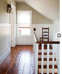 interior country casual farmhouse renovation plank pine and