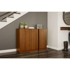 south shore storage cabinet south shore axess morgan cherry storage cabinet 10191 the home depot