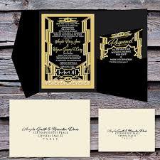 great gatsby wedding invitations great gatsby wedding invitation uc918 info