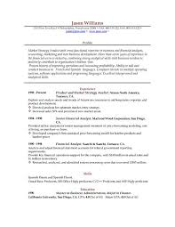 Professional Resume Examples The Best Resume by Sample Resume 85 Free Sample Resumes By Easyjob Sample Resume
