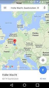Navigation Map Test Spaziergang Mit Google Navi App Mapsblog De