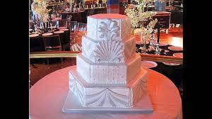 beautiful art deco wedding cakes decorations youtube