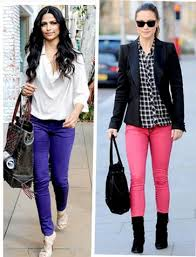 What To Wear With Light Jeans Lush Fab Glam Blogazine Style Tips Bright Color Jeans How To