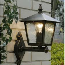 wall light in country style for your outdoor area classic lamps