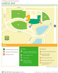 cus maps promedica bay park hospital