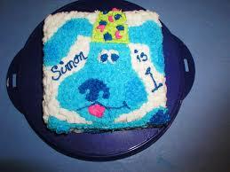 easy blues clues birthday cake ideas u2014 fitfru style