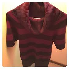 57 off sweaters purple striped sweater dress with pockets from