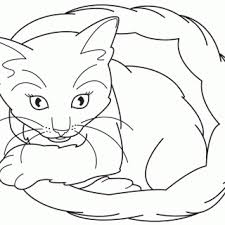 free cute kitten coloring pages cute kitten coloring page 007