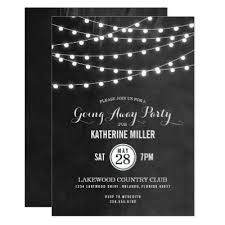 going away party invitations vintage luggage farewell party invitation zazzle