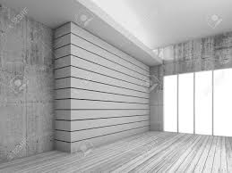 Interior Concrete Walls by Empty White Interior Background With Wooden Floor Concrete Walls