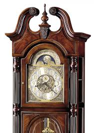 Emperor Grandfather Clock Value Clockway Howard Miller Stewart Triple Chiming Traditional