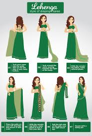 How To Drape A Gujarati Style Saree How To Wear A Saree In Different Ways Step By Step Tutorial
