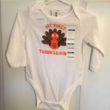 20 navy other 1st thanksgiving onesie from s