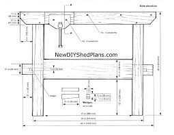 Free Simple Wood Workbench Plans by Free Woodworking Plan 65