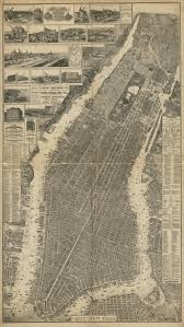 Map Of Jersey City Check Out This Incredibly Detailed Vintage Map Of The City Of New
