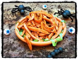 sloppy worm sandwiches for halloween sundaysupper la cocina de