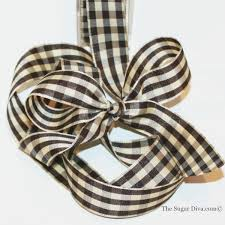 checkered ribbon ribbon black gingham checkered ribbon ribbon party