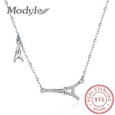sted necklaces buy eiffel tower necklace silver and get free shipping on