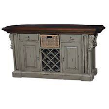 distressed island kitchen distressed kitchen island ebay