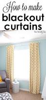 Yellow Curtains Nursery by How To Make Blackout Curtains