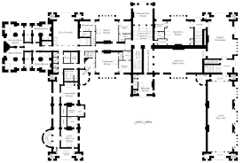 plans of historic houses