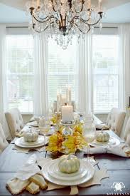 Dining Room Accents Gorgeous Dining Table Fall Decor Ideas For Every Special Day In