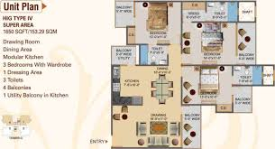 1650 sq ft 3 bhk 3t apartment for sale in hawelia group valencia