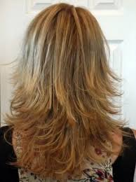 medium length hair styles from the back view long layered haircuts back view medium length layered shag honey