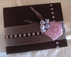 purple wedding guest book ravishing reflections website