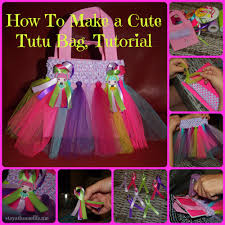 rainbow tutu bag with step by step instructions stay at home life