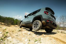 mojave jeep renegade 2015 jeep renegade trailhawk off road review