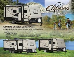 view clipper travel trailer brochures rv literature