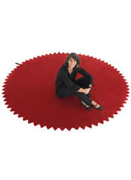 Round Red Rug Nanimarquina News Rug By Marti Guixe Stardust