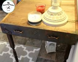 Entryway Table Upcycled Entryway Table Made From Old Drawers Hometalk