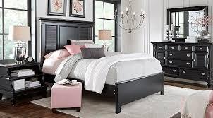 full size bedroom sets cheap bedroom vergara paris silver pc king bedroom sets black cheap