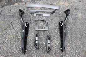 Bmw M3 Interior Trim Bmw E46 M3 Convertible Titan Shadow Interior Trim Kit 8 Pieces Ebay