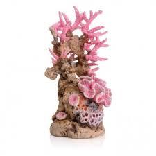 biorb ornament pink coral medium ornaments fish tank