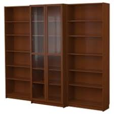 Billy Corner Bookcase Billy Corner Combination Medium Brown Ikea