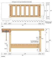 free workbench plans the 175 homemade workbench do it
