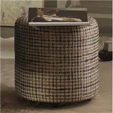 Bernhardt Ottoman Bernhardt Interiors Accents Pomona Tapered Cylinder Ottoman With