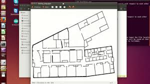 design a floorplan how to create a ros map using a buildings floorplan youtube