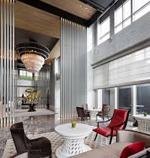 keraton at the plaza luxury collections hotel lobby design by
