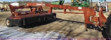 hesston 1340 rotary disc bine swather item g4469 sold j