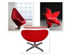 chaise bureau ik饌 45 besten mlf egg chair ottoman bilder auf arne