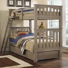 Bunk Beds For Three Bedding Dazzling Girls Bunk Beds Kids With Desk Home White One