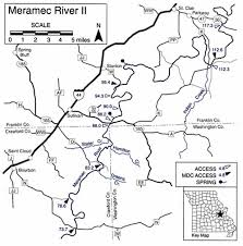 meramec community map missouri s meramec river