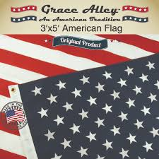 3 X 5 Flags American Flag By Grace Alley American Made Us Flag 3x5 Pr
