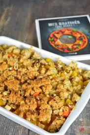 cuisiner les l馮umes d hiver crumble aux légumes d hiver recette à l omnicuiseur